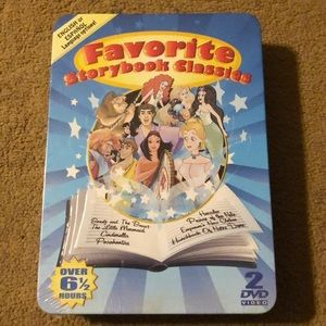 Other - Favorite Storybook Classics DVD Tin NEW
